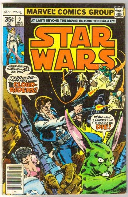 Star Wars #9 comic book very good/fine 5.0