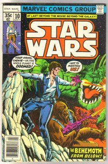 Star Wars #10 comic book very good/fine 5.0