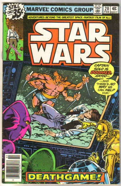 Star Wars #20 comic book very good/fine 5.0