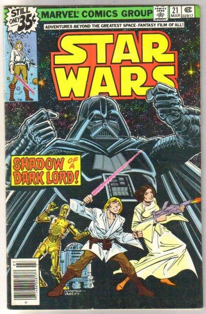 Star Wars #21 comic book very good/fine 5.0