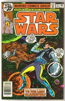Star Wars #22 comic book very good/fine 5.0