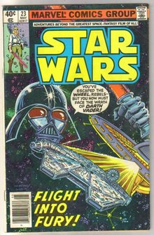 Star Wars #23 comic book very good/fine 5.0