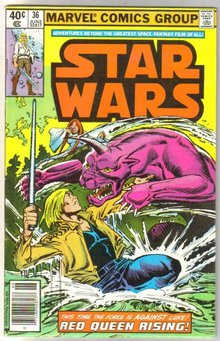 Star Wars #36 comic book fine 6.0