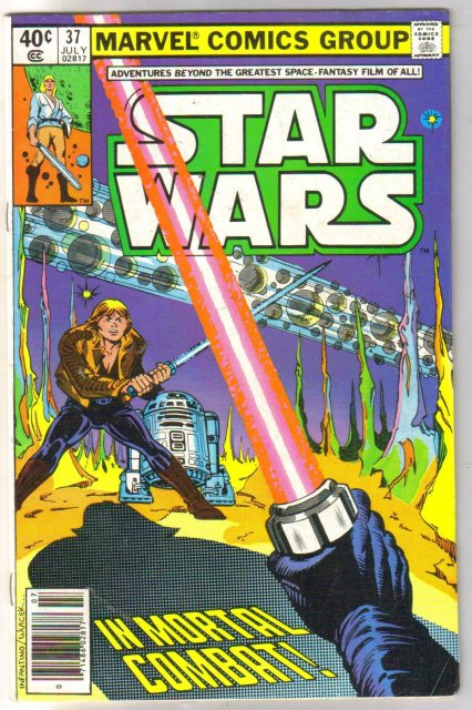 Star Wars #37 comic book fine 6.0