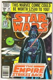 Star Wars #39 comic book fine 6.0