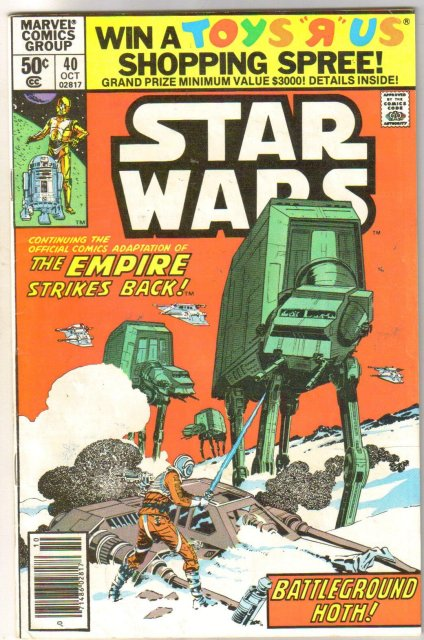Star Wars #40 comic book fine 6.0