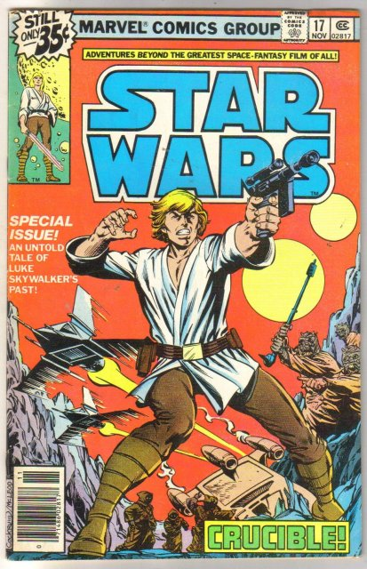 Star Wars #17 comic book fine/very fine 7.0