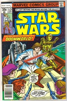 Star Wars #12 comic book very fine 8.0