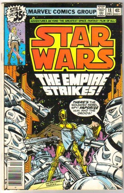 Star Wars #18 comic book very fine 8.0