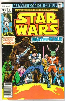 Star Wars #8 comic book very fine/near mint 9.0
