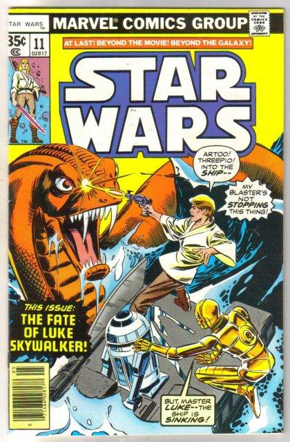 Star Wars #11 comic book very fine/near mint 9.0