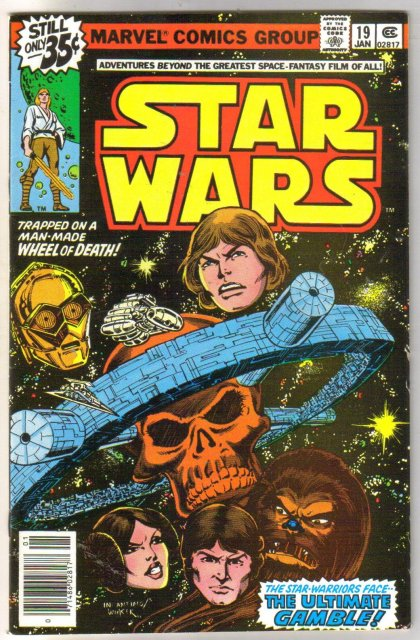 Star Wars #19 comic book very fine/near mint 9.0