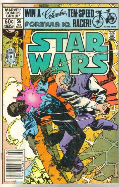Star Wars #56 comic book very good/fine 5.0