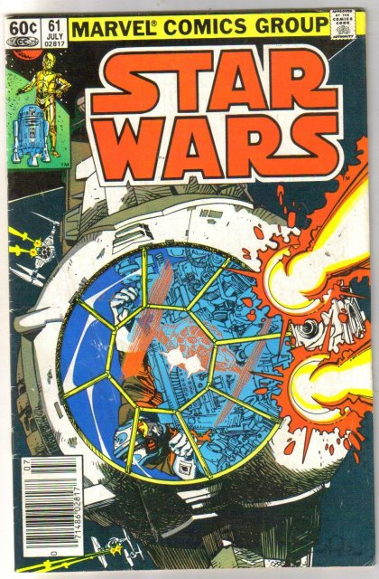 Star Wars #61 comic book very good/fine 5.0