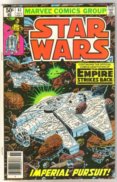 Star Wars #41 comic book fine 6.0