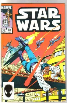 Star Wars #83 comic book very fine/near mint 9.0