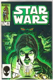 Star Wars #84 comic book very fine/near mint 9.0
