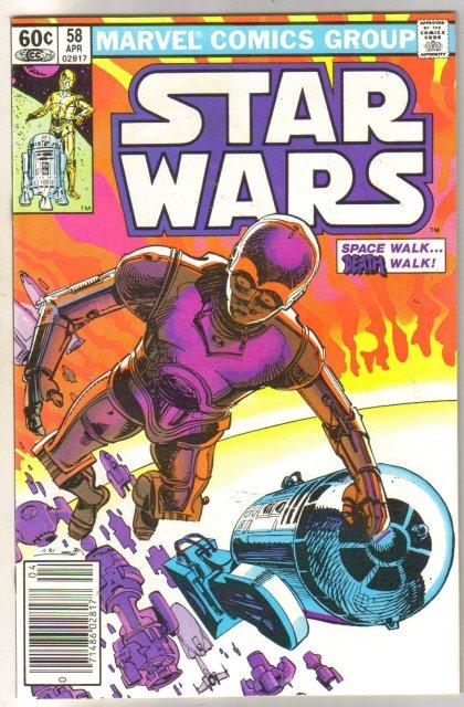 Star Wars #58 comic book near mint 9.4