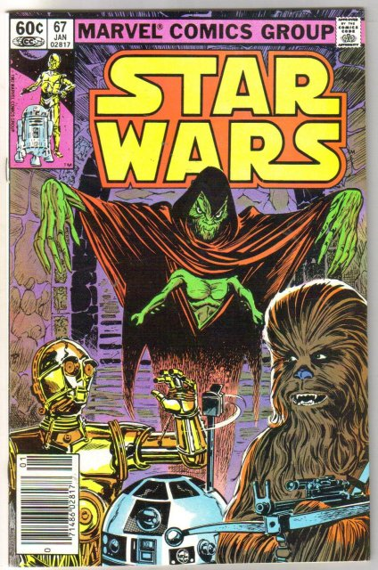 Star Wars #67 comic book near mint 9.4