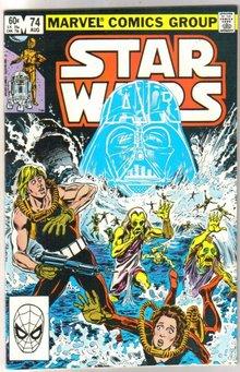 Star Wars #74 comic book near mint 9.4