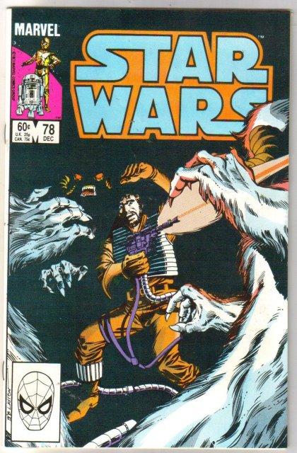 Star Wars #78 comic book near mint 9.4