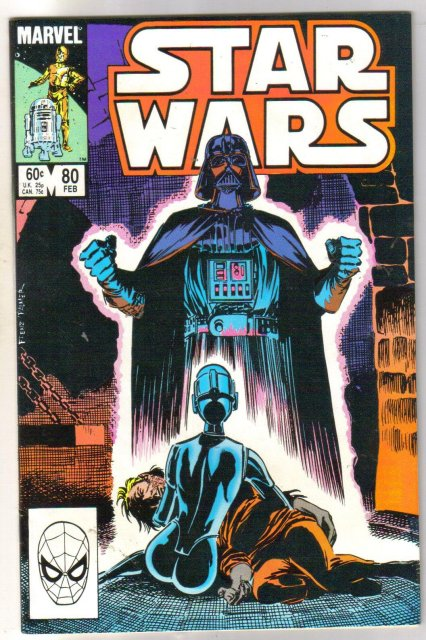 Star Wars #80 comic book near mint 9.4