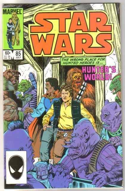 Star Wars #85 comic book near mint 9.4