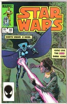 Star Wars #88 comic book near mint 9.4