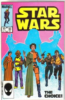 Star Wars #84 comic book near mint 9.4