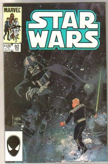 Star Wars #92 comic book near mint 9.4