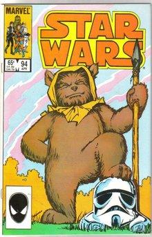 Star Wars #94 comic book near mint 9.4