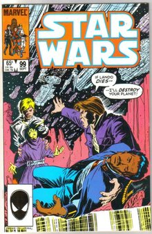 Star Wars #99 comic book near mint 9.4