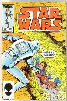 Star Wars #86 comic book mint 9.8
