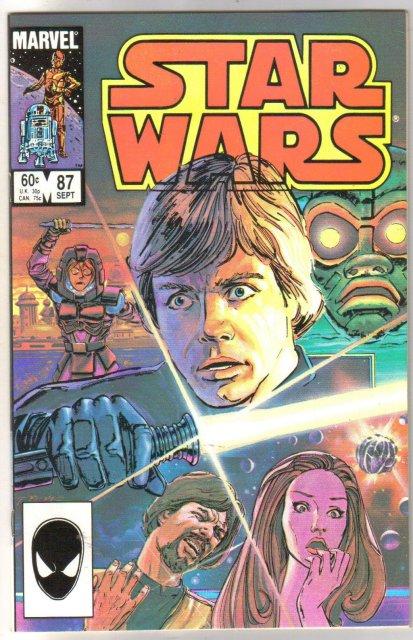 Star Wars #87 comic book mint 9.8