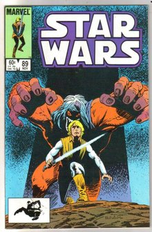 Star Wars #89 comic book mint 9.8