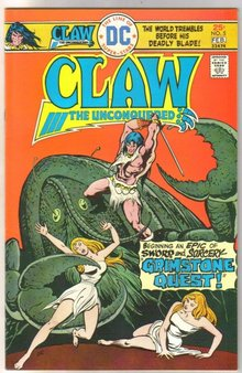 Claw the Unconquered #5 comic book near mint 9.4