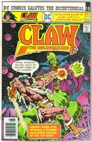 Claw the Unconquered #8 comic book near mint 9.4