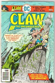 Claw the Unconquered #7 comic book mint 9.8