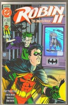 Robin II The Joker's Wild #2 4 cover collector's set