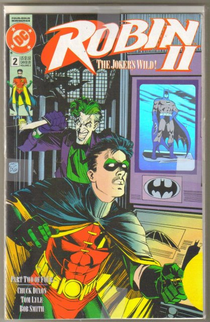 Robin II The Joker's Wild #2 4 cover collector's set