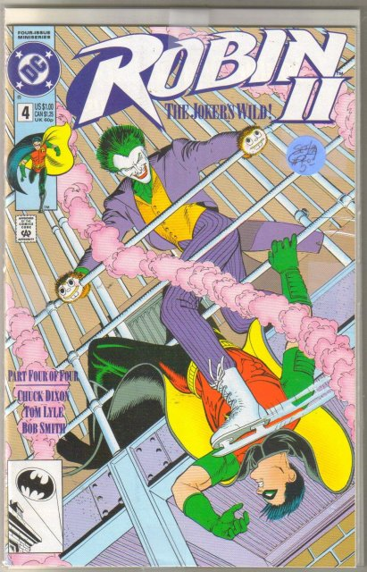 Robin II The Joker's Wild #4 2 cover collector's set