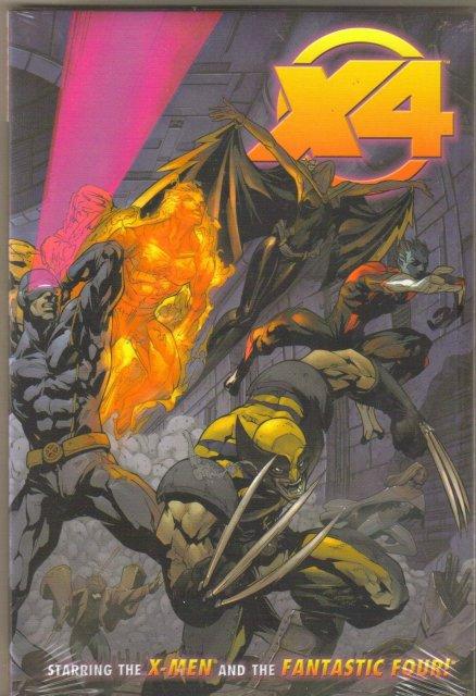 X-Men/Fantastic Four hardback brand new mint