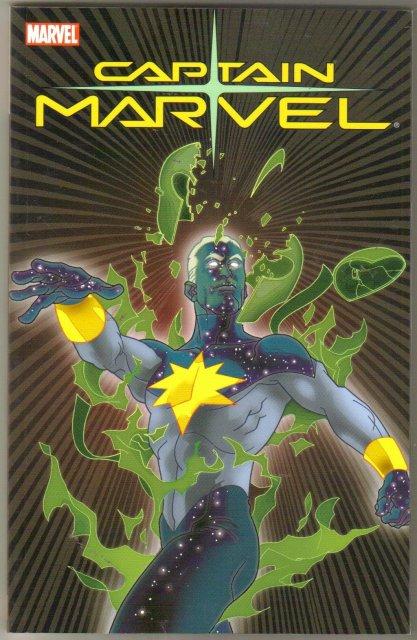 Captain Marvel Odyssey trade paperback brand new mint