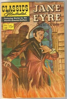 Classic Illustrated #39 hrn167 Jane Eyre by Charlotte Bronte comic book very good/fine 5.0