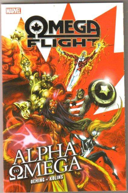 Omega Flight Alpha to Omega trade paperback brand new mint