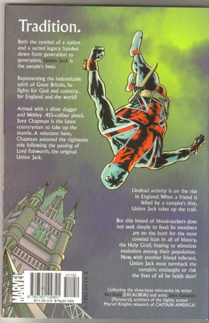 Union Jack trade paperback brand new mint