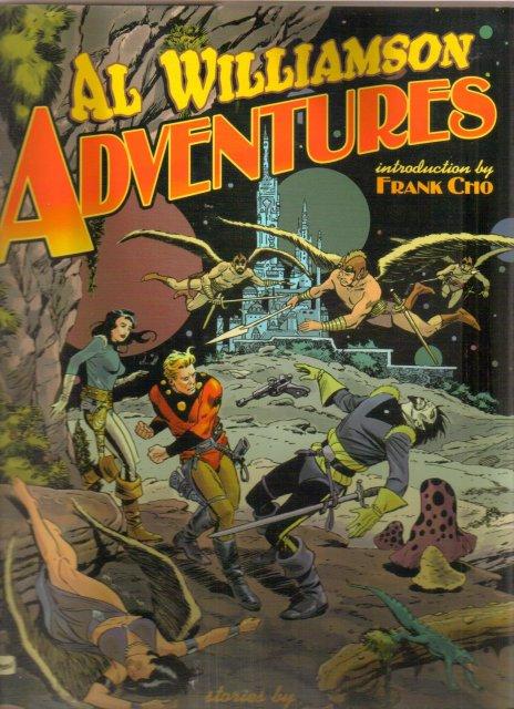 Al Williamson Adventures hardcover brand new mint