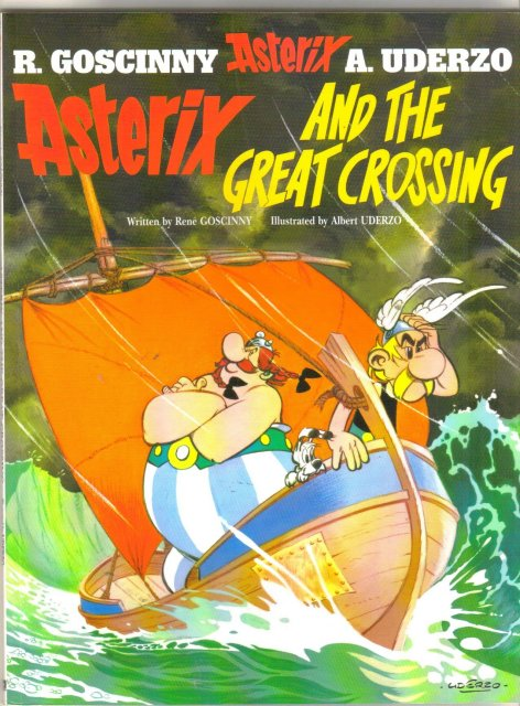 Asterix and the Great Crossing trade paperback brand new mint
