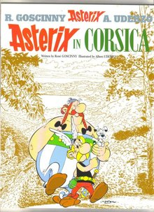 Asterix in Corsica trade paperback brand new mint