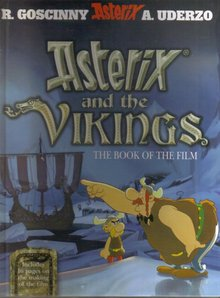 Asterix and the Vikings The Book of the Film hardback brand new mint